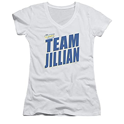 The Biggest Loser Team Jillian Ladies Junior Fit V-Neck T-Shirt