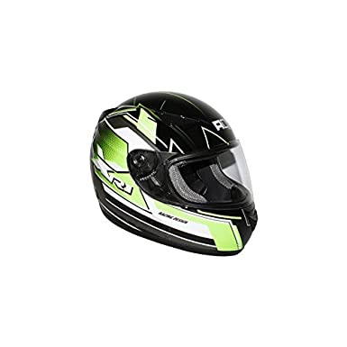 ADX - CASQUE INTEGRAL ADX XR1 RACING NOIR-VERT ---FLUO XL