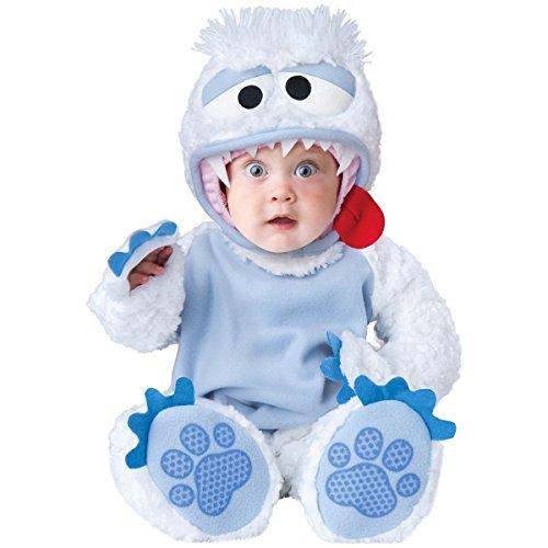 [GSG Abominable Snowman Costume Baby Yeti Halloween Fancy Dress] (Yeti Costume For Kids)