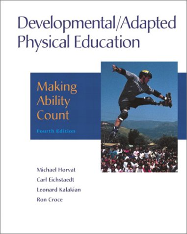 Developmental / Adapted Physical Education: Making Ability Count