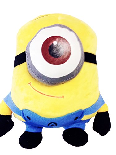 """DESPICABLE ME"" 3D-Eye Despicable Me Plush Minion 7.5"" Tall. Soft, Cuddly and So Much Fun! - 1"