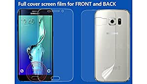 Case Creation TM Nano AntiShock Screen Protector All Round Protection for Samsung Galaxy J7 (2016) J710F/ Samsung Glaxy J710 2016 / SamsungJ710 SM-J710 (Front Back REUSABLE, ULTRA CLEAR, REAL SHOCK PROOF, UNBREAKABLE)