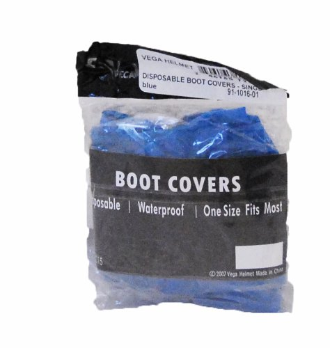 Vega Disposable Boot Cover - Pair (Blue ) front-1036758