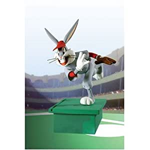 looney tunes bugs bunny baseball bugs action figure toys games. Black Bedroom Furniture Sets. Home Design Ideas
