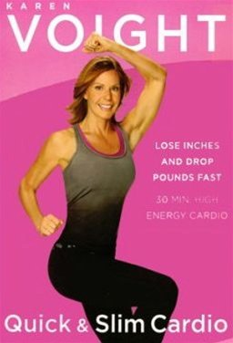 Karen Voight Quick and Slim Cardio DVD region 0 play Worldwide