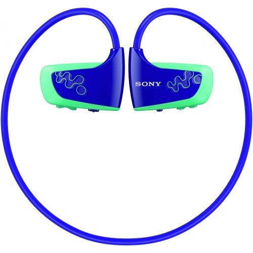 Casque et Lecteur Sony -balabeur waterproof- NWZ- W263L - 4 Go USB - Bleu