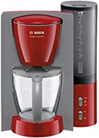 Bosch TKA 6024 V Cafetière Private 15 Tasses- 1100 W- 1,4 L Rouge / Gris