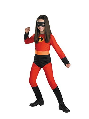 [Big Girls' Violet Incredible Costume Large (10-12) by Disguise] (The Incredibles Costume Girl)