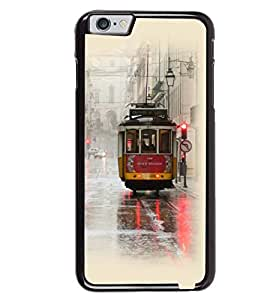 Printvisa Vintage Tram Pic Back Case Cover for Apple iPhone 6S