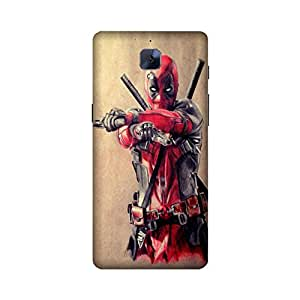 StyleO OnePlus 3 / Oneplus Three Printed Case & Covers (OnePlus 3 / Oneplus Three Back Cover) - Superhero Deadpool