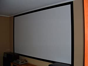 Carl's Blackout Cloth, 110x150-inch, DIY Projector Screen, Raw Material/Fabric, Matte White, 4:3/1.0