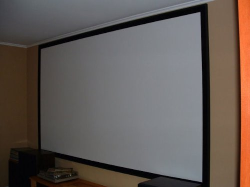 New Blackout 87x110-Inch Fabric for DIY Projector Screen