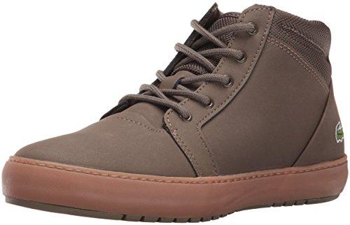 Lacoste Women's Ampthill Chukka 316 2 Spw Dk Grn Fashion Sneaker, Dark Green, 8 M US