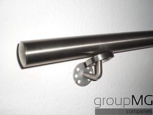 groupMG sales and trading Edelstahl Handlauf 4000mm Gewinkelte Halter Abmessung 42.4mm  BaumarktKundenbewertung und Beschreibung