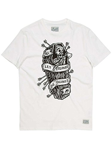 T-Shirt Element Bygones Off Bianco (M , Bianco)