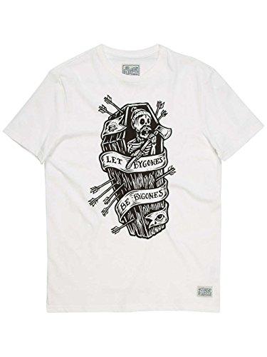 T-Shirt Element Bygones Off Bianco (M , Bianco)
