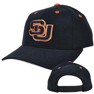 Buy NCAA Puma Syracuse Orangemen Navy Blue Orange Old School Vintage Snapback Hat by PUMA