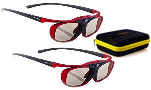 2x-hi-shockr-rf-pro-scarlet-heaven-rechargeable-3d-active-glasses-for-3d-projector-epson-home-cinema