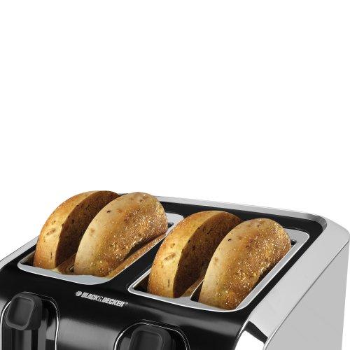 Imagen de Negro & Decker TR1400SB 4-Slice Toaster Acero inoxidable