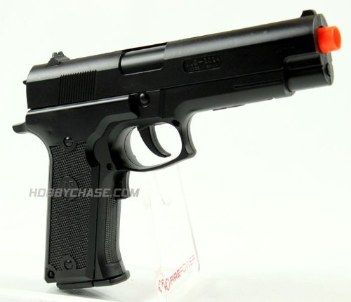 JLS Electric M2024B FPS-120 Full Auto Electric Blowback Airsoft Pistol Airsoft Gun