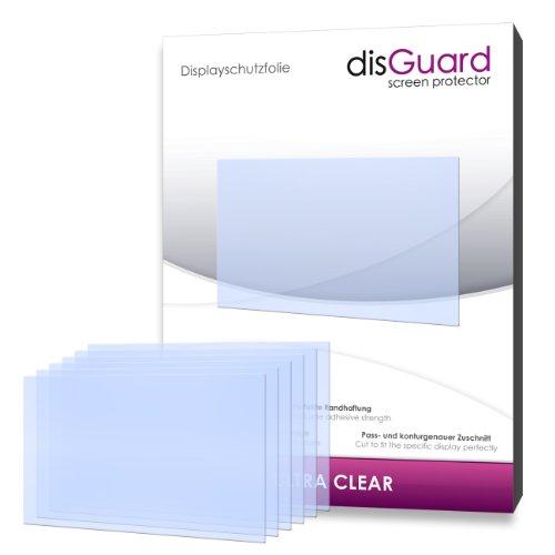 6 x disGuard Ultra Clear Displayschutzfolie für Canon Powershot SX260 HS / SX260HS / SX-260 HS - Displayschutz kristallklar