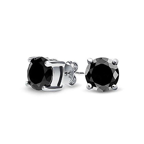 bling-jewelry-herren-unisex-cz-rund-schwarzr-knopf-ohrhanger-aus-925er-sterling-silber-7mm