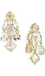 Kate Spade New York Statement Chandelier Earrings, Clear