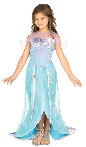 Let's Pretend Child's Deluxe Mermaid Costume, Medium
