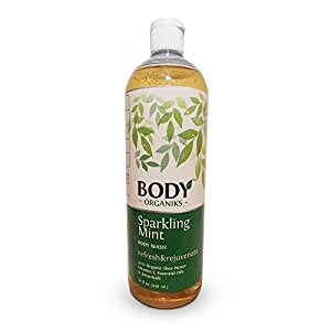 huge invigorating 32oz castile soap body wash peppermint liquid soap to refresh. Black Bedroom Furniture Sets. Home Design Ideas