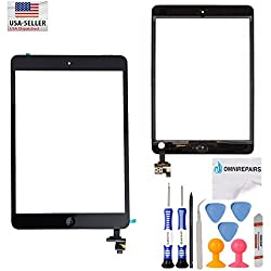 Apple Ipad Mini 2 Touch Screen Digitizer with Sticker and IC Replacement.