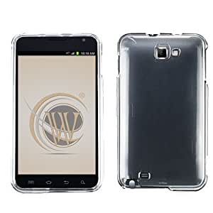 Transparent Clear Protector Case Phone Cover AT&T Samsung Galaxy Note N7000/i717