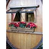 JUNIT Fass-Gartenlaube-oval, Verkaufstand, Weintheke, Weinverkostungss