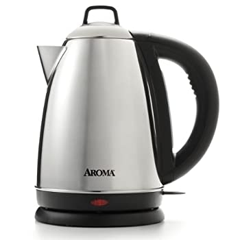 The Hot H20 X-Press from Aroma provides boiling water in a matter of minutes. The 1-1/2-liter capacity is ideal for a variety of uses--hot tea, soups, instant coffees, oatmeal, hot chocolate, noodles, baby formula and more. Once water reaches a boil,...