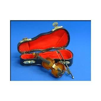Just-On (ジャストオン)  ミニチュア楽器 バイオリン 9cm