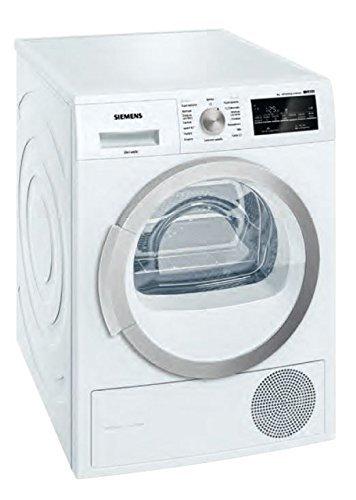 Siemens WT47W468IT Libera installazione Caricamento frontale 8kg A++ Bianco asciugatrice