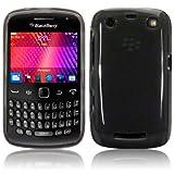 Blackberry Curve 9360 Gel Skin Case / Cover - Smoke Black PART OF THE QUBITS ACCESSORIES RANGE