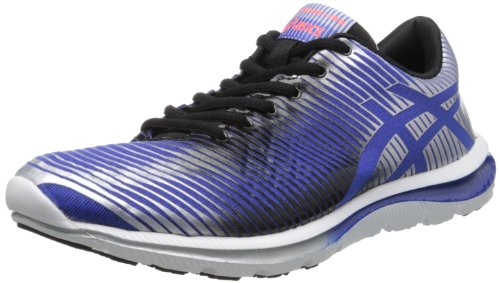 ASICS Men's GEL-Super J33 Running Shoe,Dazzling Blue/Black/Lightning,10.5 M US