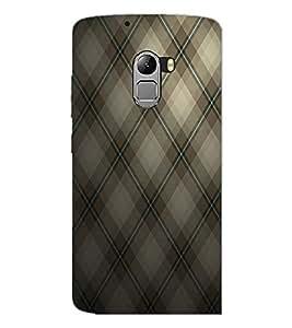 PrintDhaba Black Pattern D-1008 Back Case Cover for LENOVO VIBE K4 NOTE (Multi-Coloured)