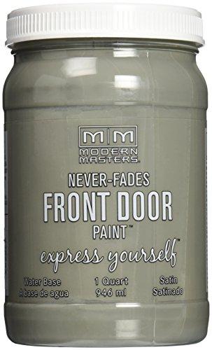 Modern Masters 275262 Satin Front Door Paint, 1 quart, Mysterious
