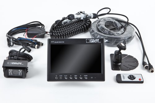 buy cheap rear view camera system one 1 camera setup with trailer tow quick connect disconnect. Black Bedroom Furniture Sets. Home Design Ideas
