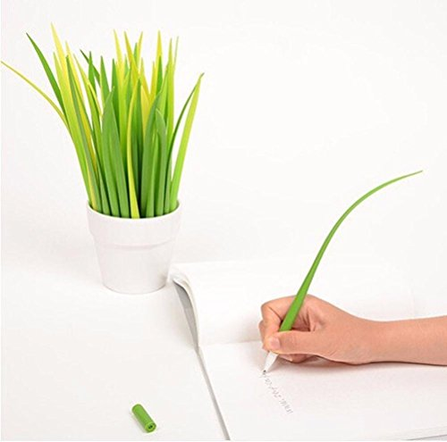 oyedens12pcs-a-forma-di-foglie-erba-di-prato-a-lama-in-silicone-penna-office-school-supplies-promozi