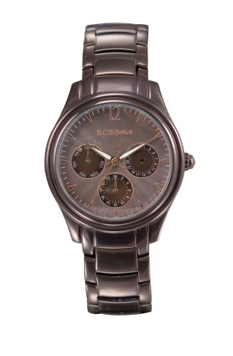 BCBGirls Women's GL4016 Chronograph Sun Kissed Bronze Collection Watch
