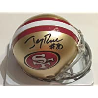 Jerry Rice Hall of Fame Signed Autograph San Francisco 49ers Mini Helmet Authentic Certified Coa