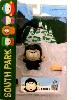 Picture of Mezco SOUTH PARK SERIES 5 FIGURE DAMIEN (B000QC5XSQ) (Mezco Action Figures)