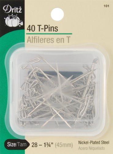 Dritz T-Pins Size 28 40/pkg