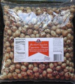 Da Vinci Gourmet Chocolate Covered Espresso Beans - Marbled - 5 Lb Bag