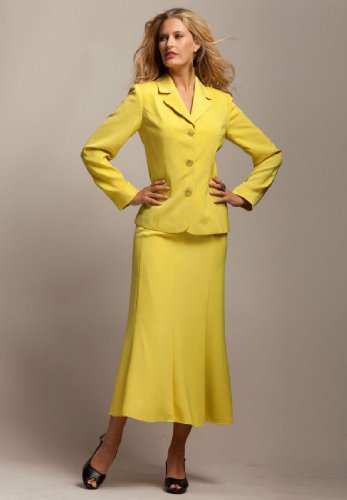 7de510a5bd2 Skirt Suits Grand Sales  Roamans Plus Size Trumpet Skirt Suit