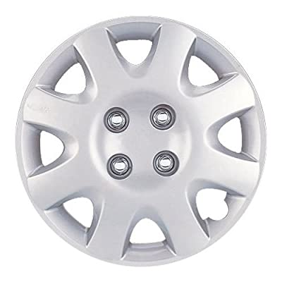 "NEW 14"" SILVER/LACQUER ABS WHEEL COVER HUB CAPS 4PC SET for HONDA CIVIC 98-00"