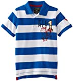 Company 81 Boys 2-7 4/7 Short Sleeve Stripe Pique Top
