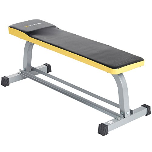 gold-coast-flat-weight-bench-with-dumbbell-storage-rack